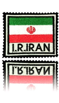 آرم سینه بازو پرچم ایران