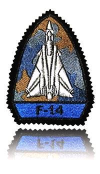 آرم سینه شماره 4 تامکت اف-14