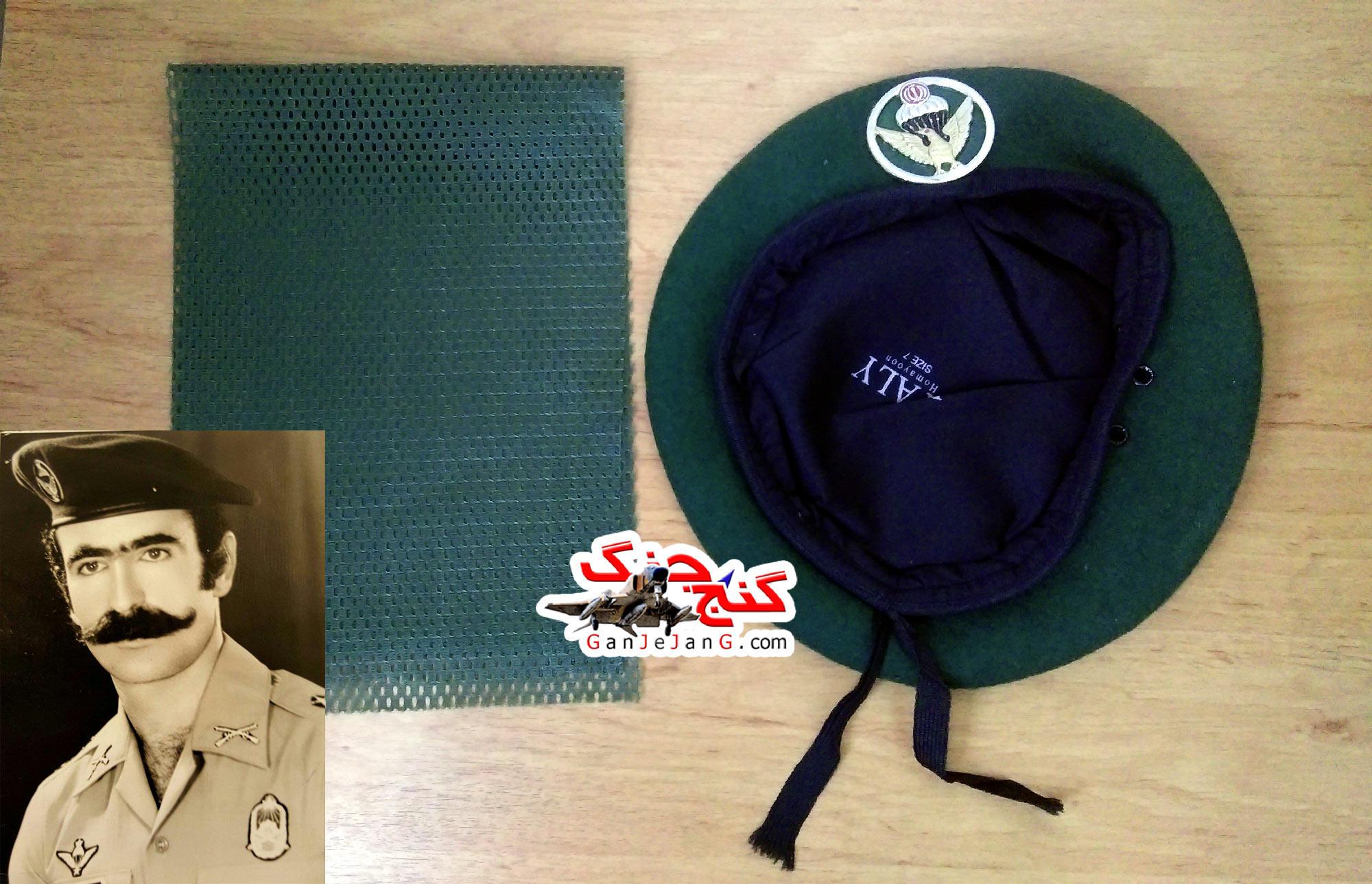 کلاه بره (تکاوری) نیروی مخصوص زمان جنگ+دستمال گردن رایگان