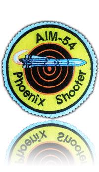 آرم سینه اف-14 شلیک کنندگان فونیکس (تمام دوخت)