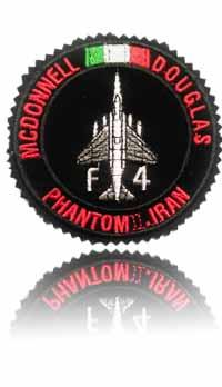 آرم سینه اف-4 فانتوم (مشکی)