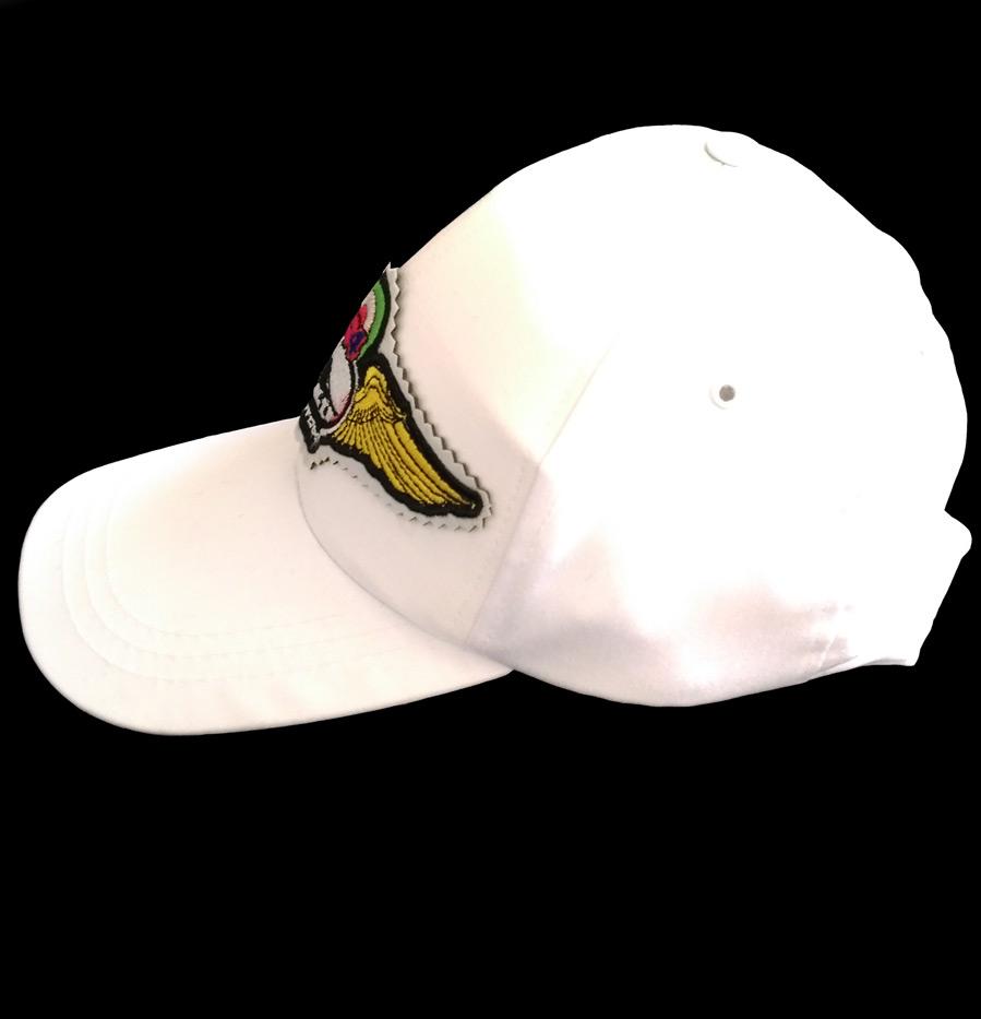 کلاه آفتابی سفید با آرم فانتوم
