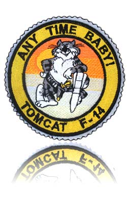 آرم سینه تمام دوخت خلبان کابین عقب تامکت اف-14