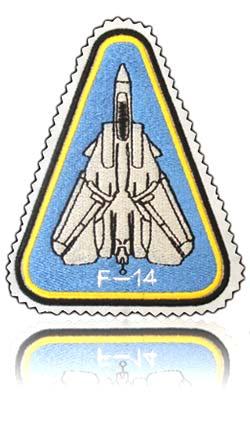 آرم بازو تمام دوخت خلبان لیدر چهارم تامکت اف-14