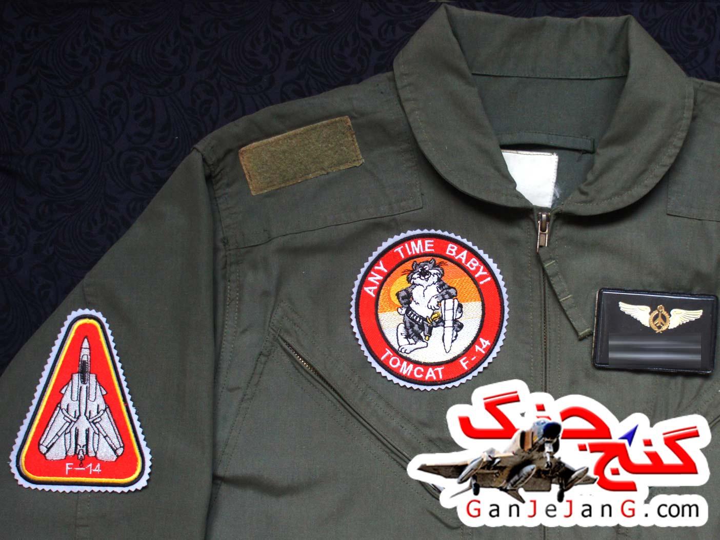 آرم سینه تمام دوخت خلبان لیدر سوم تامکت اف-14