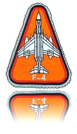 آرم بازو تمام دوخت خلبان لیدر دوم اف-4 فانتوم