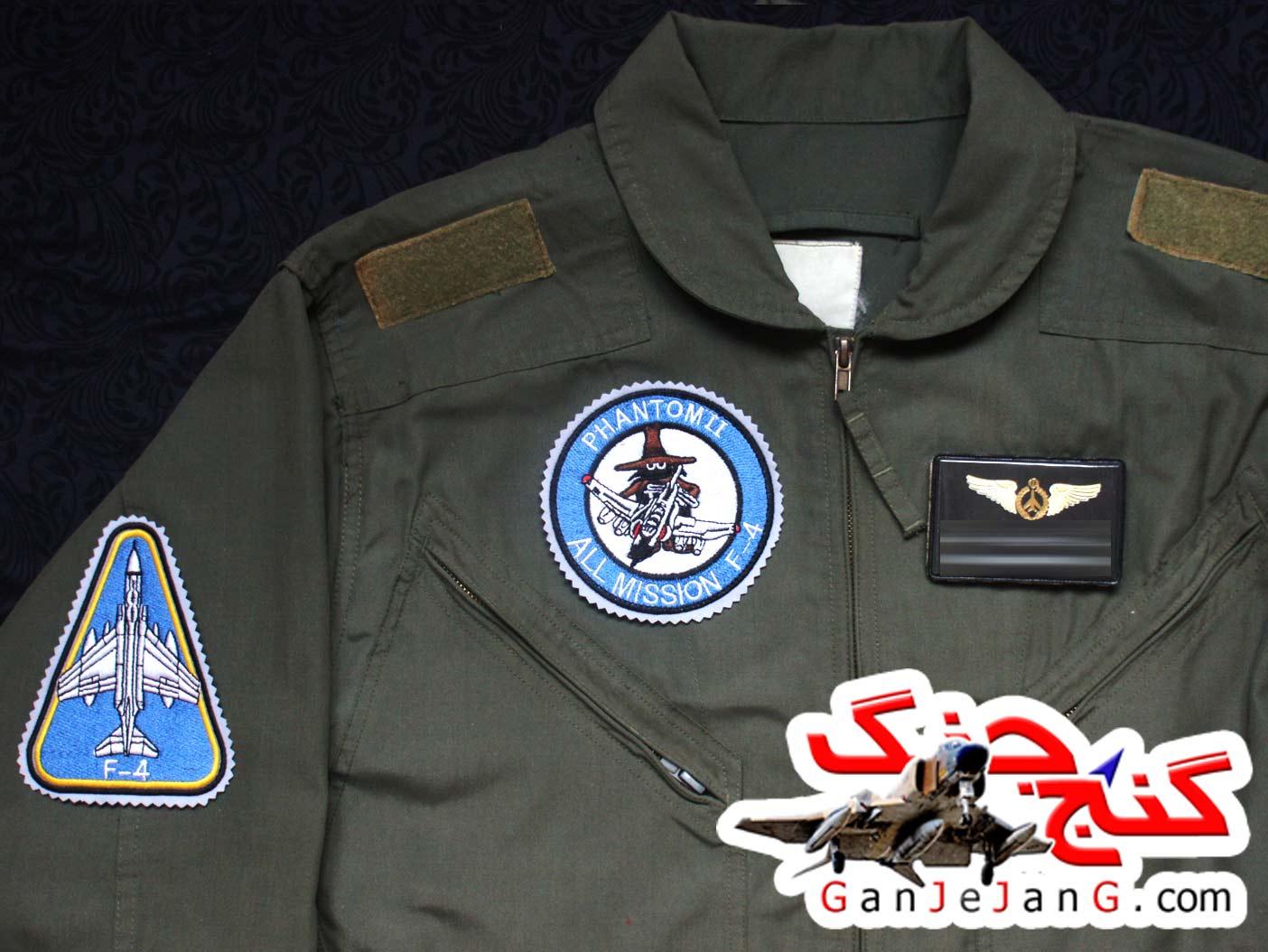 آرم سینه تمام دوخت خلبان لیدر چهارم اف-4 فانتوم