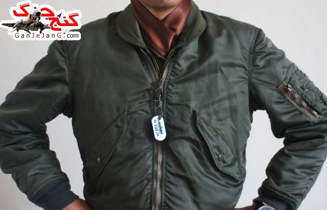دستمال گردن خلبانی شکاری شماره سیزده + دستمال جیب کت