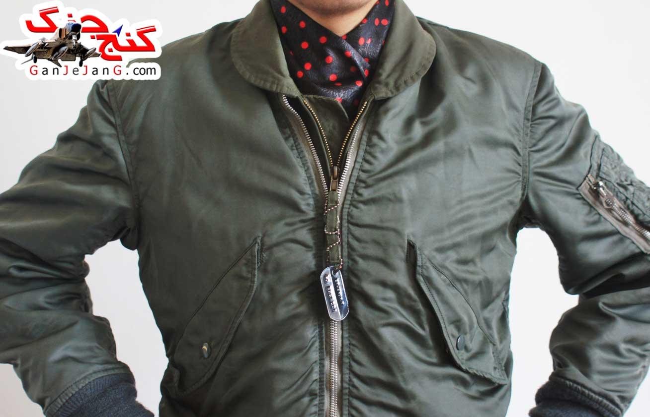 دستمال گردن خلبانی شکاری شماره هفت + دستمال جیب کت