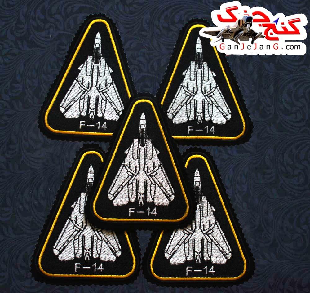 آرم بازو تمام دوخت استاد خلبان لیدر یک اف-14 تامکت