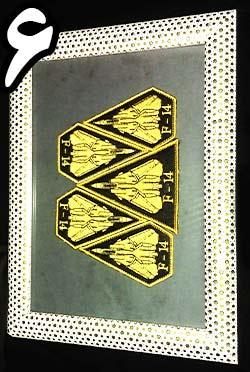 تابلو دیواری آرم های بازو تامکت