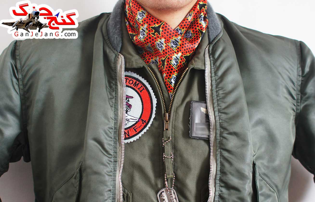 دستمال گردن خلبانی لیدر سه F-4 فانتوم