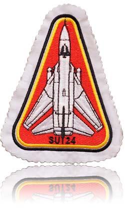 آرم بازو تمام دوخت خلبان لیدر سوم سوخو-24 فنسر