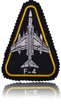 آرم بازو تمام دوخت استاد خلبان لیدر یک اف-4 فانتوم