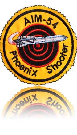 آرم سینه اف-14 شلیک کنندگان فونیکس